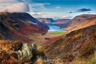 Buttermere Valley from Hay Stacks - Lake District Canvas