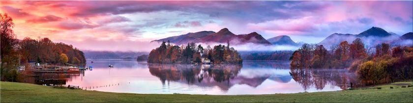Derwent Water Sunrise - Canvas Prints