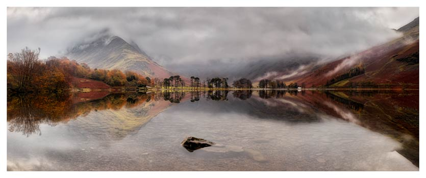 Buttermere Between the Showers - Lake District Print