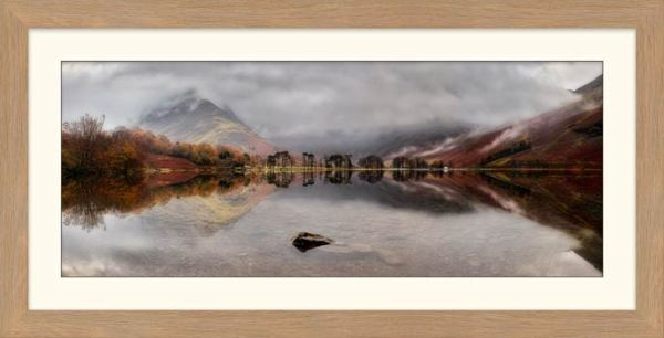 Buttermere Between the Showers - Framed Print with Mount