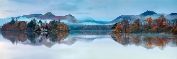 Derwent Isle Dawn Mists - Canvas Print