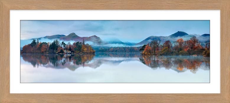 Derwent Isle Dawn Mists - Framed Print