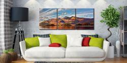 Skiddaw Sunshine - 3 Panel Canvas on Wall