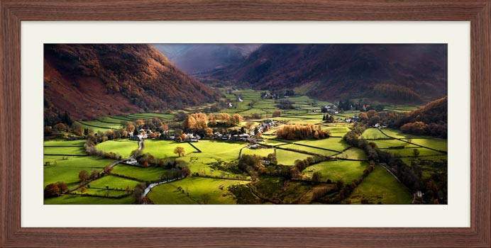 Autumn Colours of Borrowdale - Framed Print