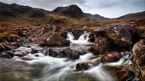 Deepdale Beck to Greenhow End - Lake District Canvas