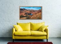 Winter Sun Over Blea Tarn - Oak floater frame with acrylic glazing on Wall