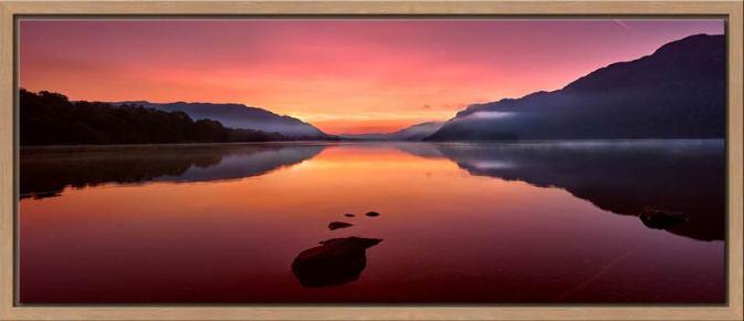 Ullswater Golden Sunrise - Modern Print