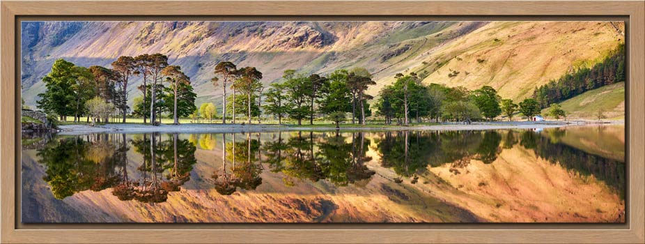 Golden Dawn Buttermere - Modern Print