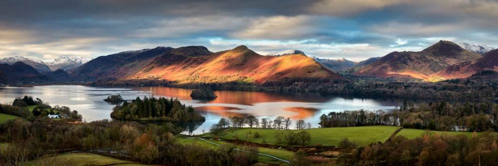 Cat Bells Morning Light - Canvas Print