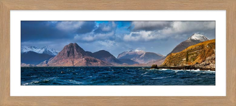 Cuillins From Elgol - Framed Print