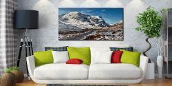 Road Through Glencoe - Canvas Print on Wall