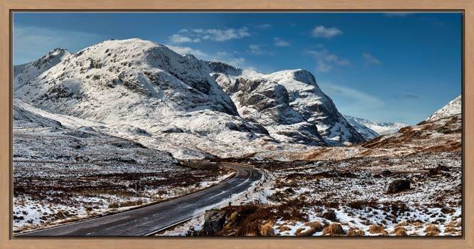 Road Through Glencoe - Modern Print