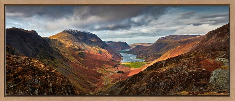 Buttermere Valley and High Crag - Modern Print