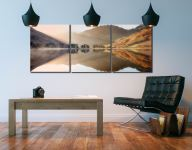 Bright Light on Buttermere - UltraHD Print with Aluminium Backing on Wall