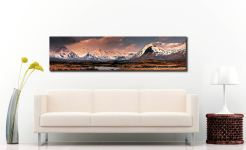 Mountains Around Rannoch Moor - Scotland Canvas on Wall