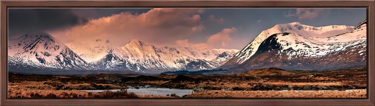 Mountains Around Rannoch Moor - Modern Print