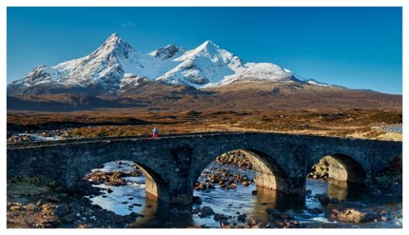 Stone Bridge at Sligachan - Isle of Skye Print