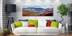 Derwent Water Autumn Panorama - UltraHD Print with Aluminium Backing on Wall