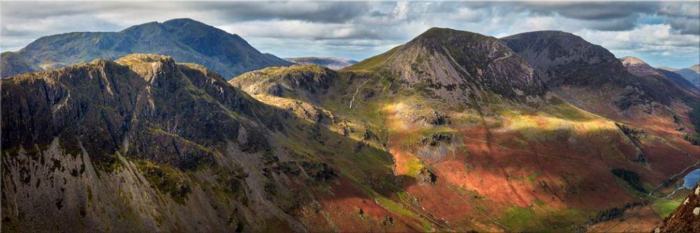 Haystacks High Crag High Stile - Canvas Print
