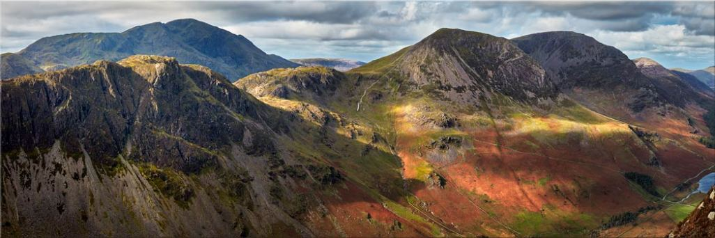 Haystacks High Crag High Stile - Canvas Print