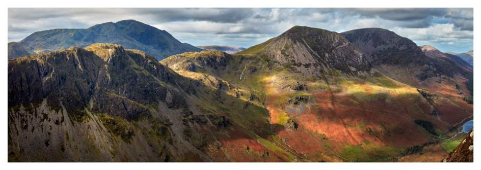 Haystacks High Crag High Stile - Lake District Print