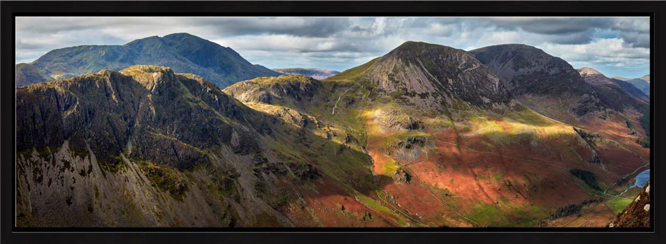 Haystacks High Crag High Stile - Modern Print