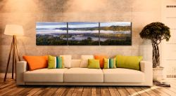 Bowness On Windermere Morning Mists - UltraHD Print with Aluminium Backing on Wall