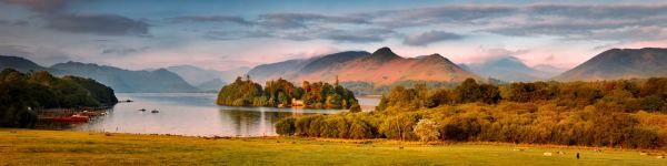 Derwent Water and Catbells in Morning Light - UltraHD Print with Aluminium Backing