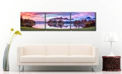 Derwent Water Sunrise - UltraHD Print with Aluminium Backing on Wall