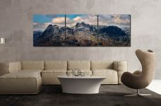 The Langdales and Pavey Ark - UltraHD Print with Aluminium Backing on Wall