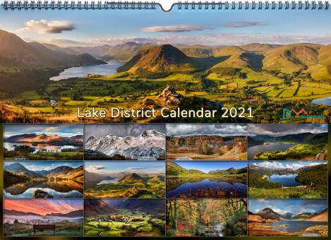 Lake District Wall Calendar 2021