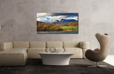 Golden Trees of Langdale - Canvas Print on Wall