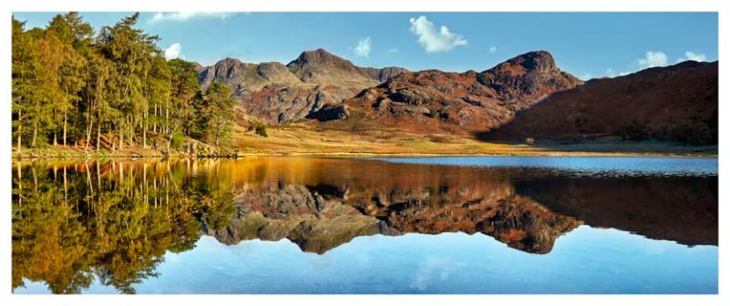 Blea Tarn Blue Skies - Lake District Print