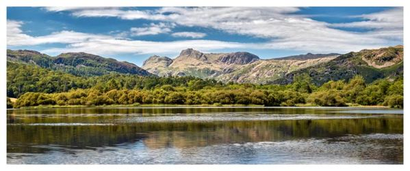 Elterwater Summer - Lake District Print