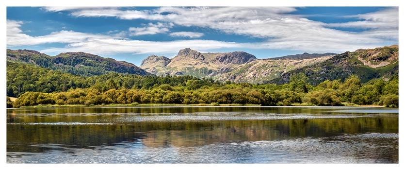 Elterwater Summer - Lake District Print