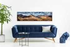 High Crag and Buttermere Panorama - UltraHD Print with Aluminium Backing on Wall