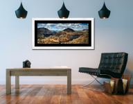 Pillar and High Crag from Haystacks - Framed Print with Mount on Wall