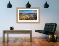 Ullswater from St Sunday Crag - Framed Print with Mount on Wall
