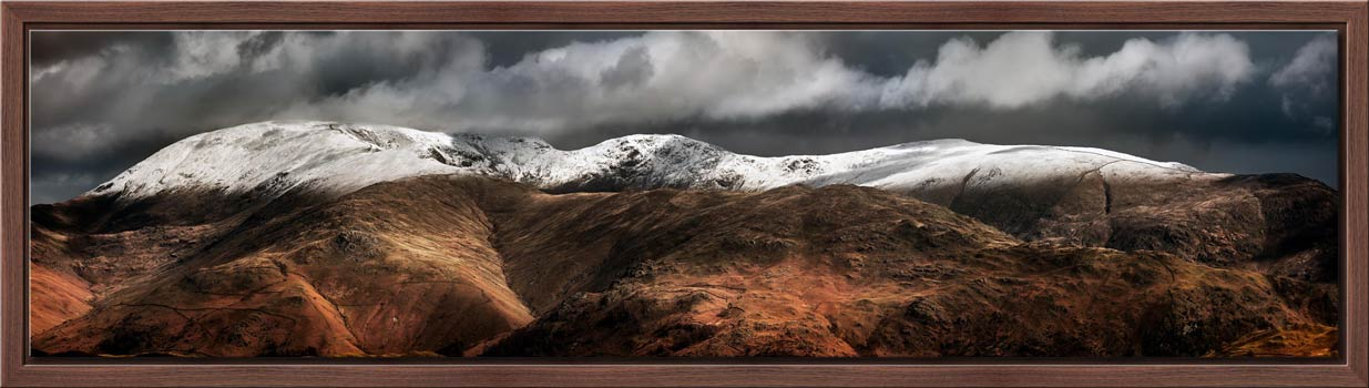 Fairfield Winter Panorama - Modern Print