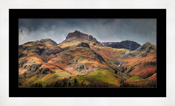 Harrison Stickle Pavey Ark - Framed Print with Mount