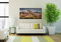 Harrison Stickle Pavey Ark - Print Aluminium Backing With Acrylic Glazing on Wall