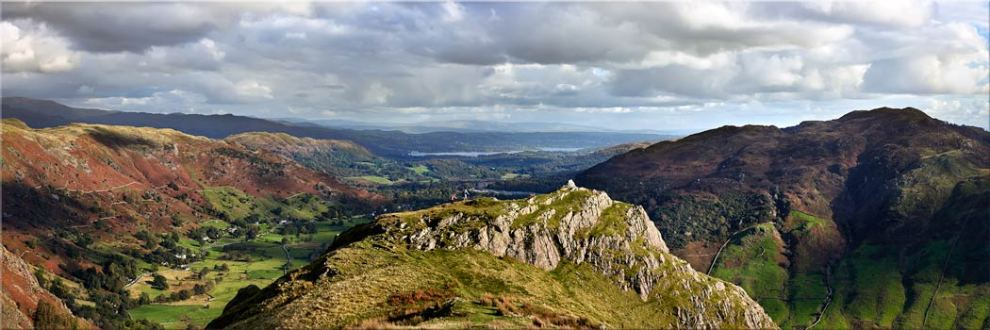 Pike Howe in Great Langdale - Canvas Print