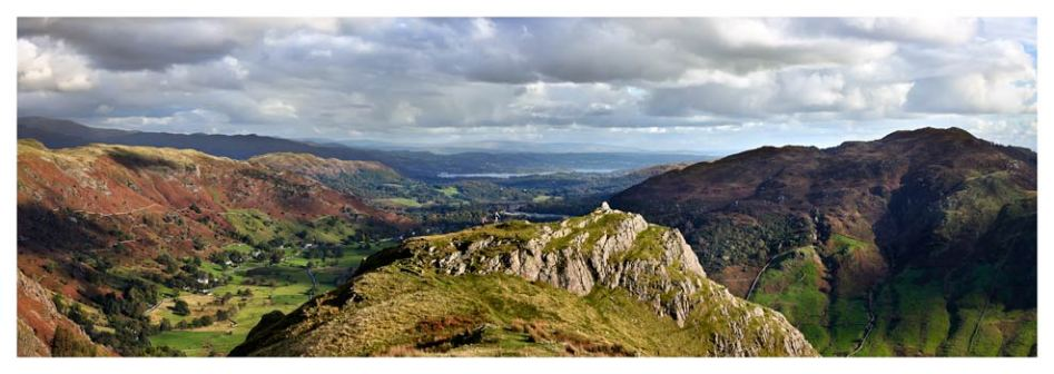 Pike Howe in Great Langdale - Lake District Print