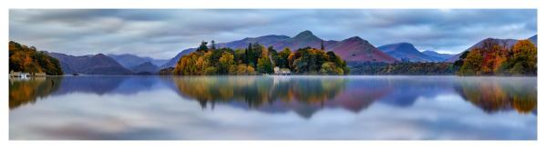 Derwent Water Tranquility - Lake District PrintLD137FA-Derwent-Water-Tranquility-Print