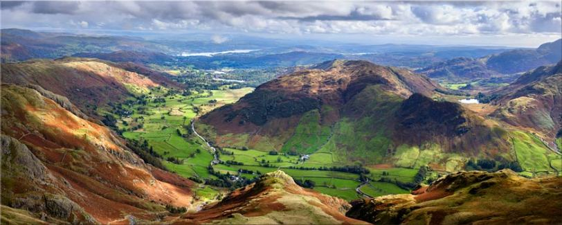 The Langdale Valleys - Lake District Canvas
