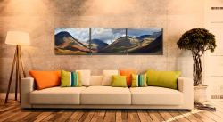 Sunlight on Wasdale Mountains - UltraHD Print with Aluminium Backing on Wall