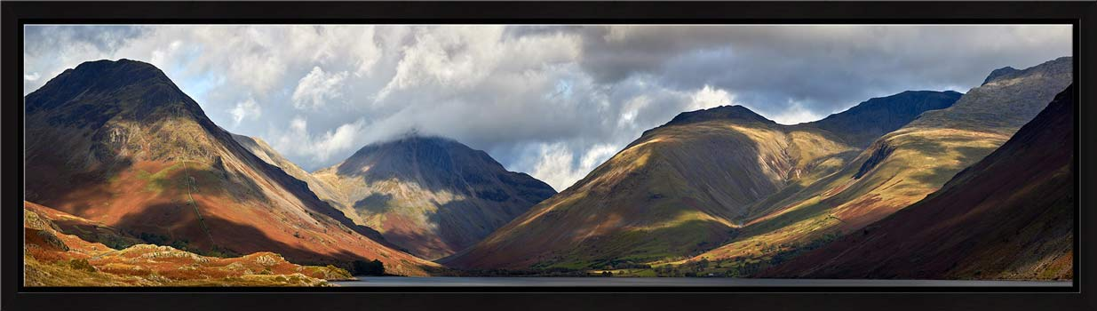 Sunlight on Wasdale Mountains - Modern Print
