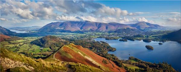 Catbells to Skiddaw - Canvas Print