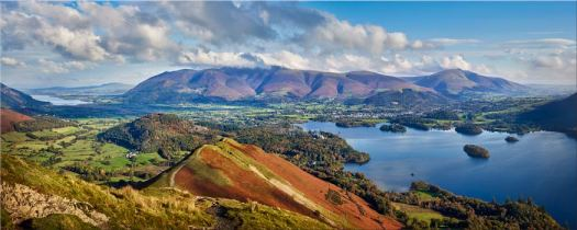 Catbells to Skiddaw - Lake District Canvas