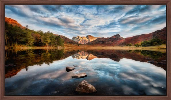 Light on the Langdales - Modern Print